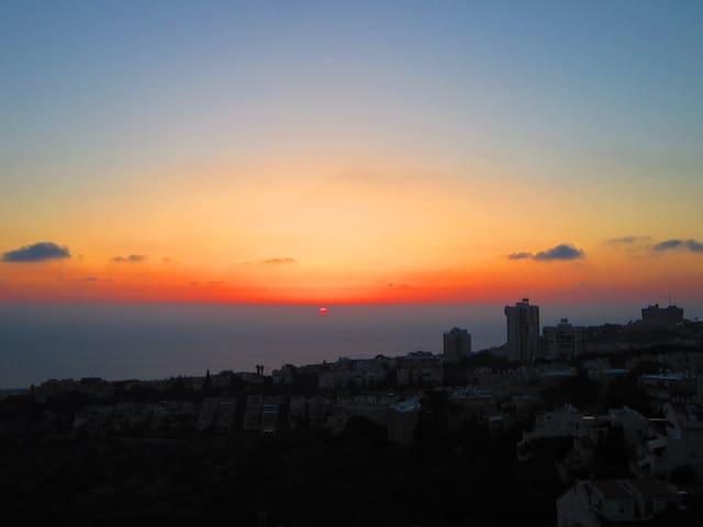 3BDRM Family friendly, ocean view, Haifa in Summer - Haifa - Pis