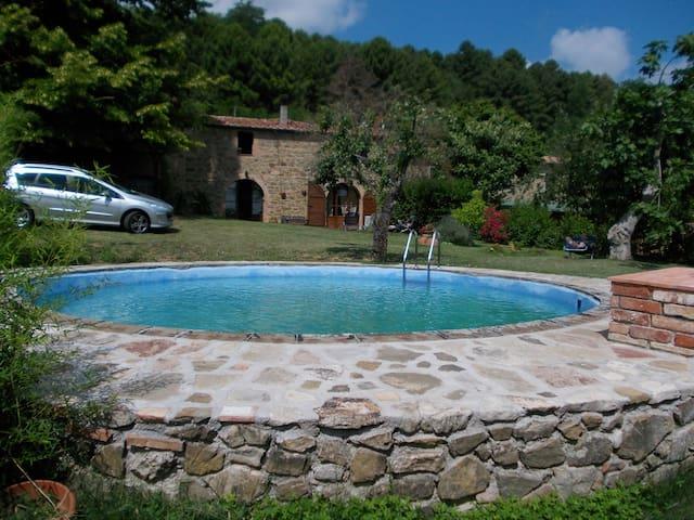 casa julia con giardino e piscina  - Rivalto - Dom