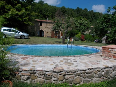 casa julia con giardino e piscina in esclusiva