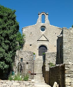 12th century restored Chapel  - Saignon