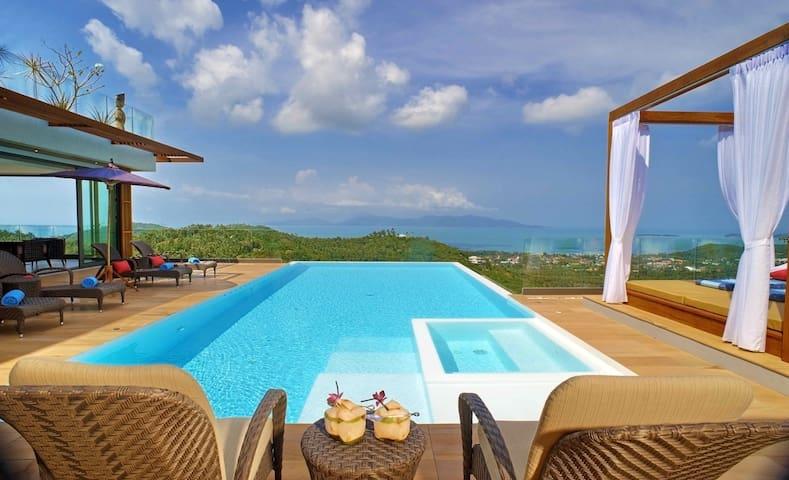 Luxury Villa-5*service-amazing view
