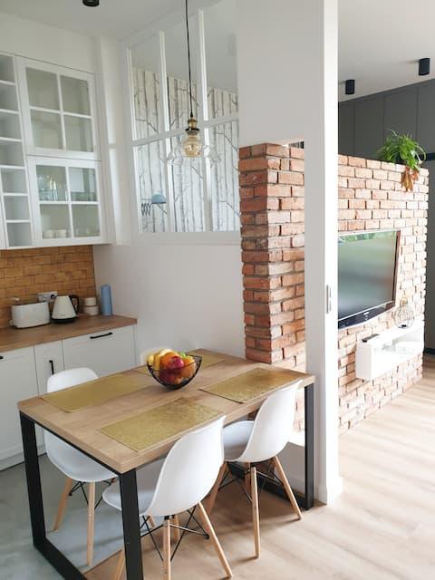 Ekskluzywny apartament w centrum Poznania