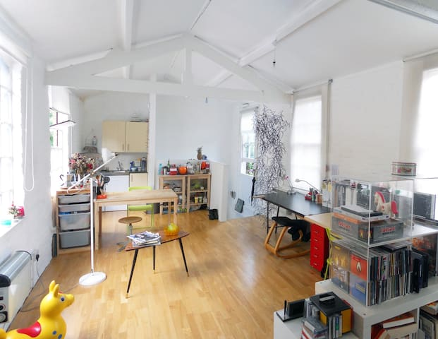 Stunning spacious flat Shoreditch - Londres - Loft