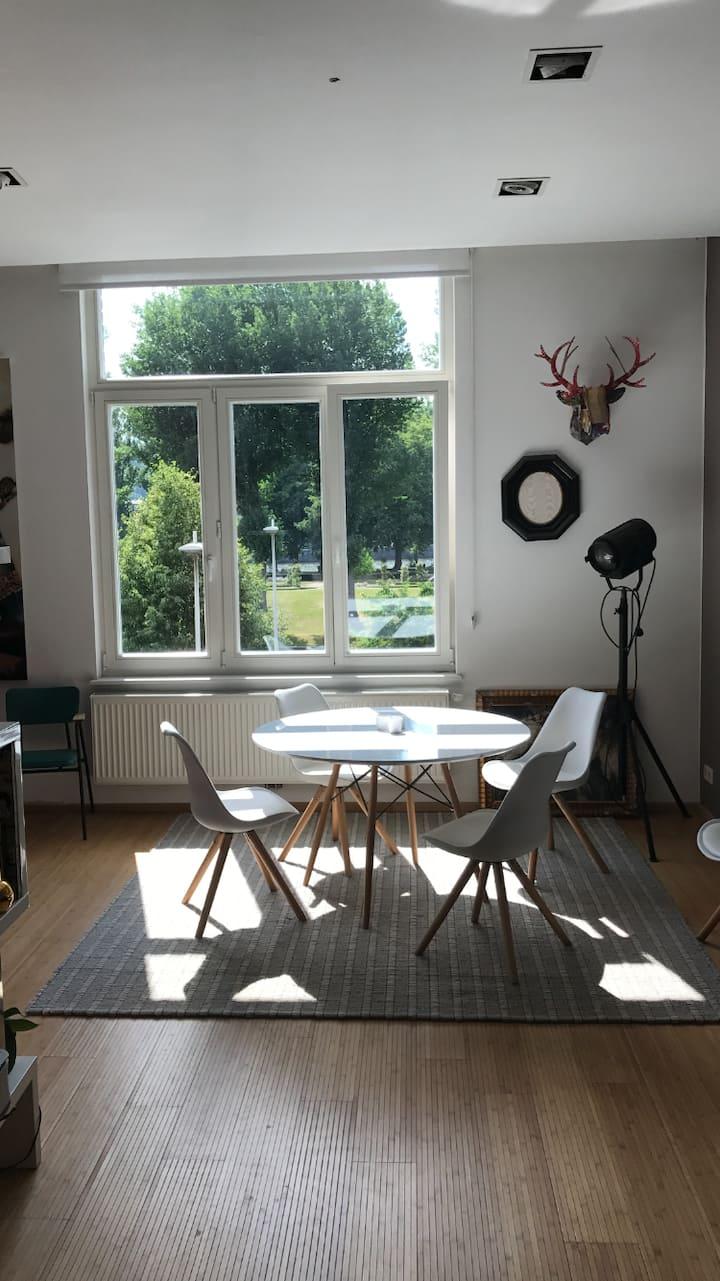 Appartement 2 chambres parc de la Boverie