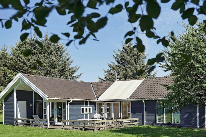 Beautiful Holiday Home in Aakirkeby with Swimming Pool