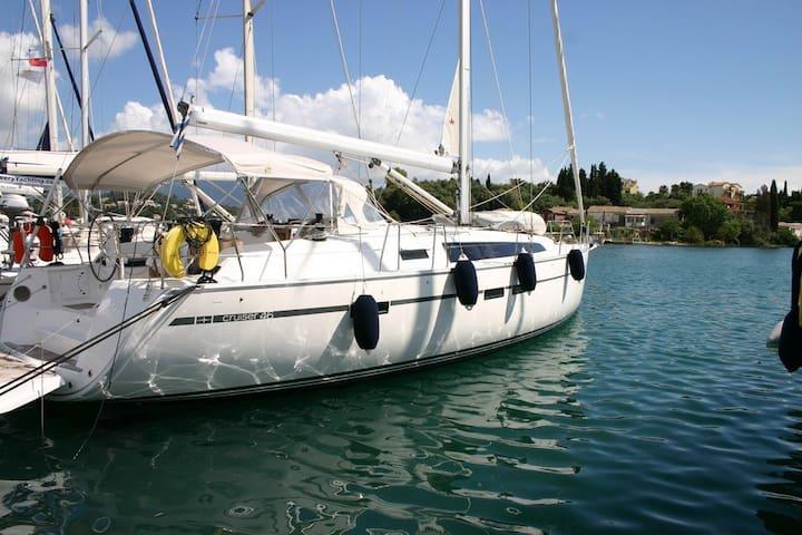 Boat House in Corfu!