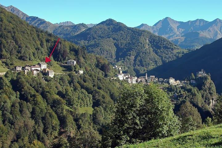 Tranquilla casetta in montagna
