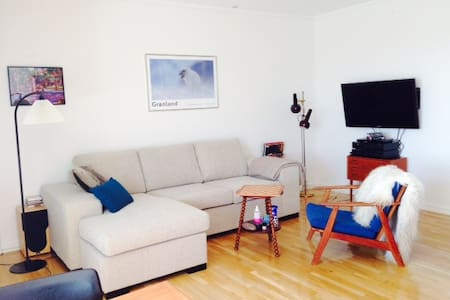 Central in Nuuk, one room 2 pers - Nuuk - Apartmen
