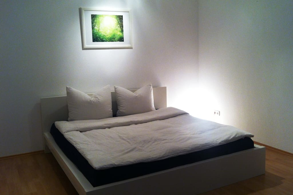 Living- and bedroom