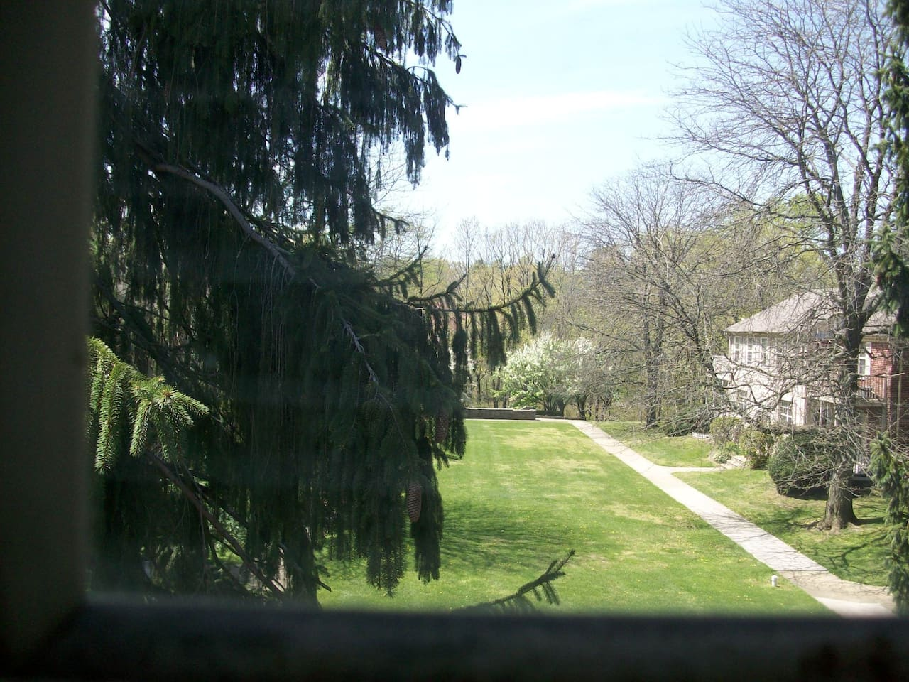 View from LIVING ROOM : )