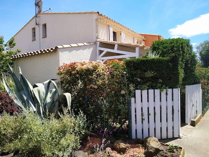 Cap d'Agde.Villa 6 pers.Proximité plage Richelieu