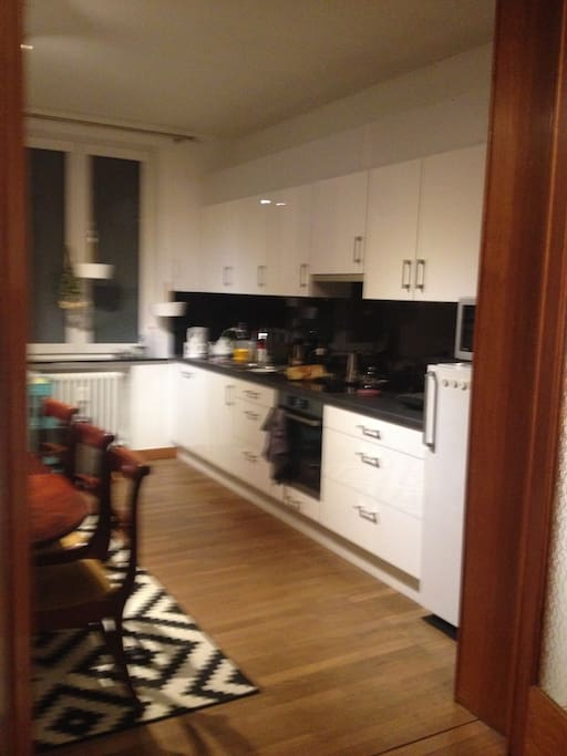 Open kitchen & Dining room