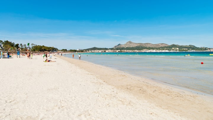 Diana Apt for 4 people 150 m to the beach Alcudia