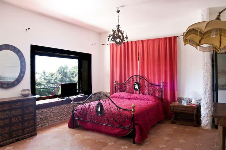 il cielo di Sorrento e Capri in una stanza