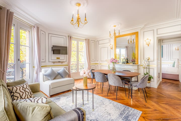 Luxury 2 bedroom 2,5 bathroom Louvre & Notre Dame