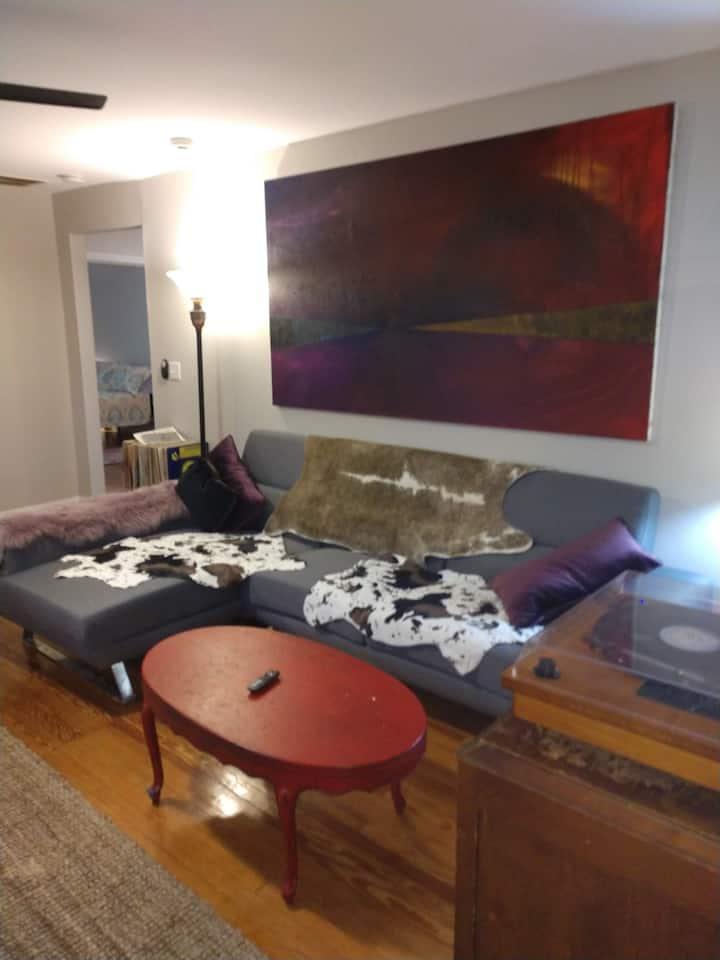 East Atlanta Hip Home White Desk Room
