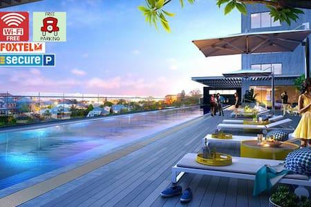 Central Brisbane2BedsPark+Super big balcony!