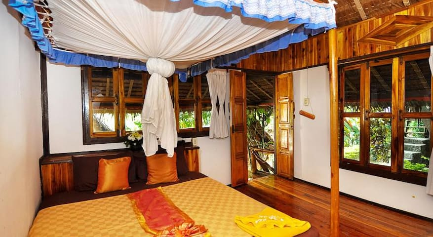 Relaxing Bungalow - Very Close to beach - Phi Phi Islands - Domek parterowy