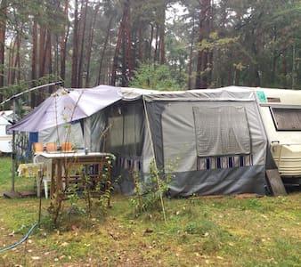 Wohnwagen Camping - Wandlitz