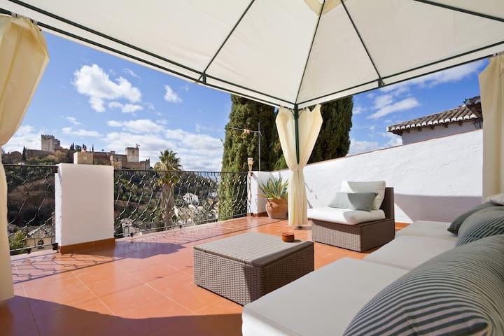 Las tres terrazas Granada room 2