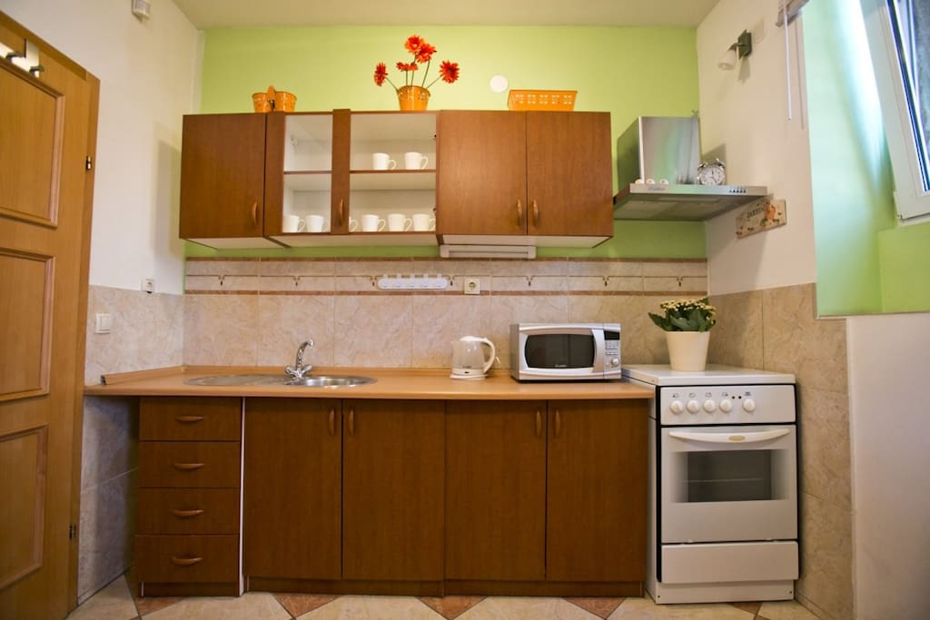 Nice and practical kitchen