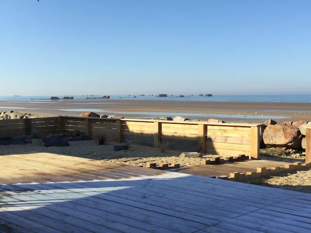 Maison vue mer, Arromanches, plages débarquement - Asnelles - Дом