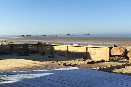 Maison vue mer, Arromanches, plages débarquement - Asnelles