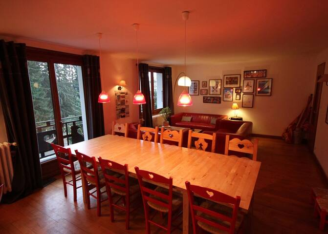 Great location, spacious chalet  - Arâches-la-Frasse - Chalet