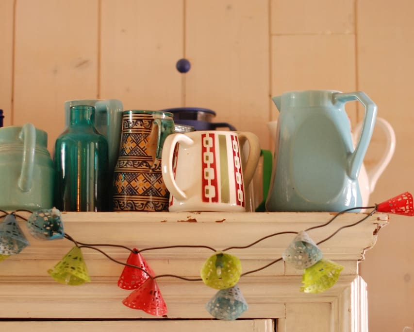 collection jugs / la collection de cruches