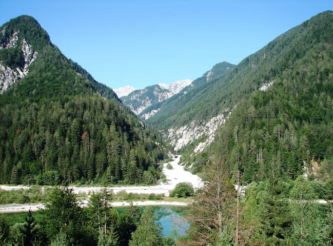 House with an outstanding view - Municipality of Kranjska Gora - Apartment