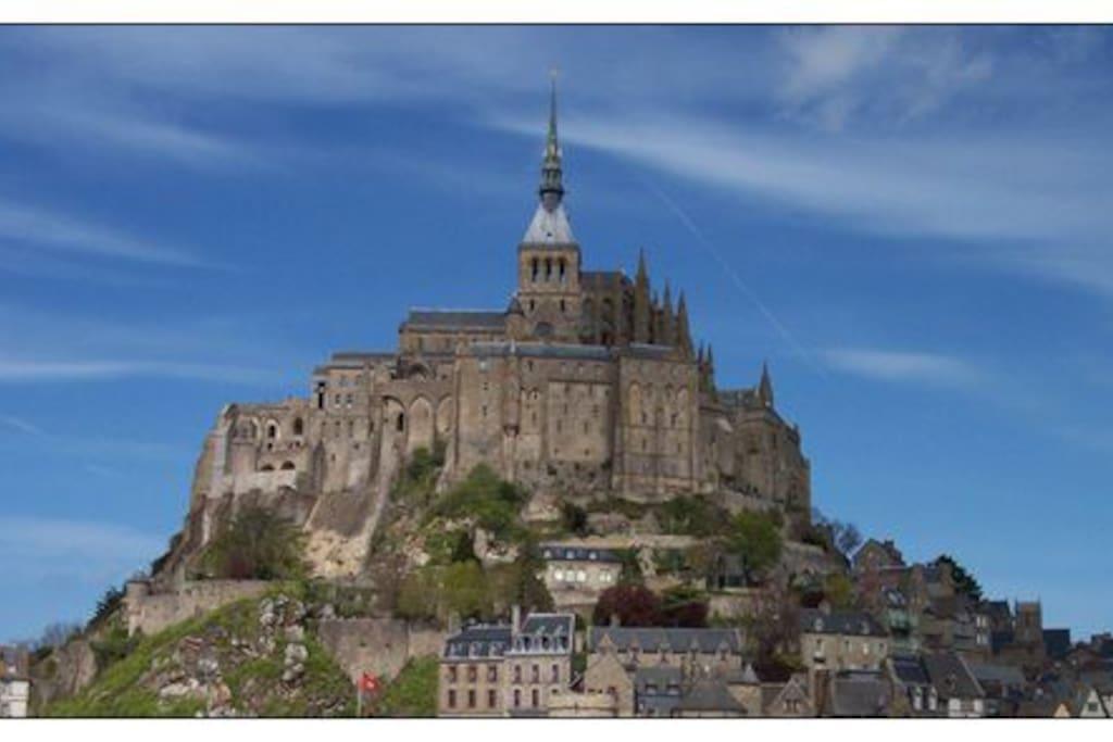 La rive le mont saint michel chambres d 39 h tes louer pontorson basse normandie france - Chambres d hote mont saint michel ...