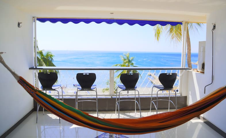 Flat -3 Bedroom with an Amazing View El Rodadero