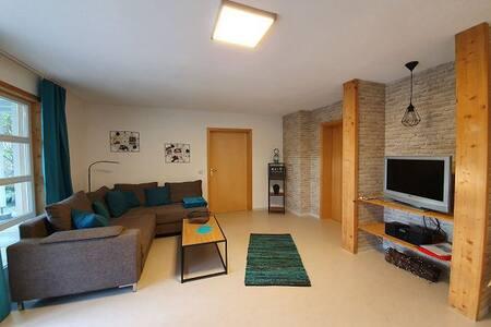 Ferienwohnungen Kätzlehaus, (Meßstetten), Untere Ferienwohnung, 70qm, Terrasse, 1 Schlafzimmer, max. 3 Personen