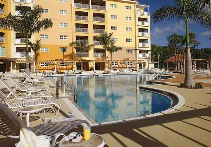 Miami Marriott's Villas at Doral 50%OFF Dec. 18-25 - Miami - Byt se službami (podobně jako v hotelu)