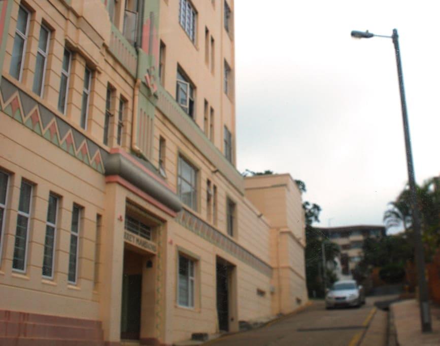 Landmark Art Deco Building