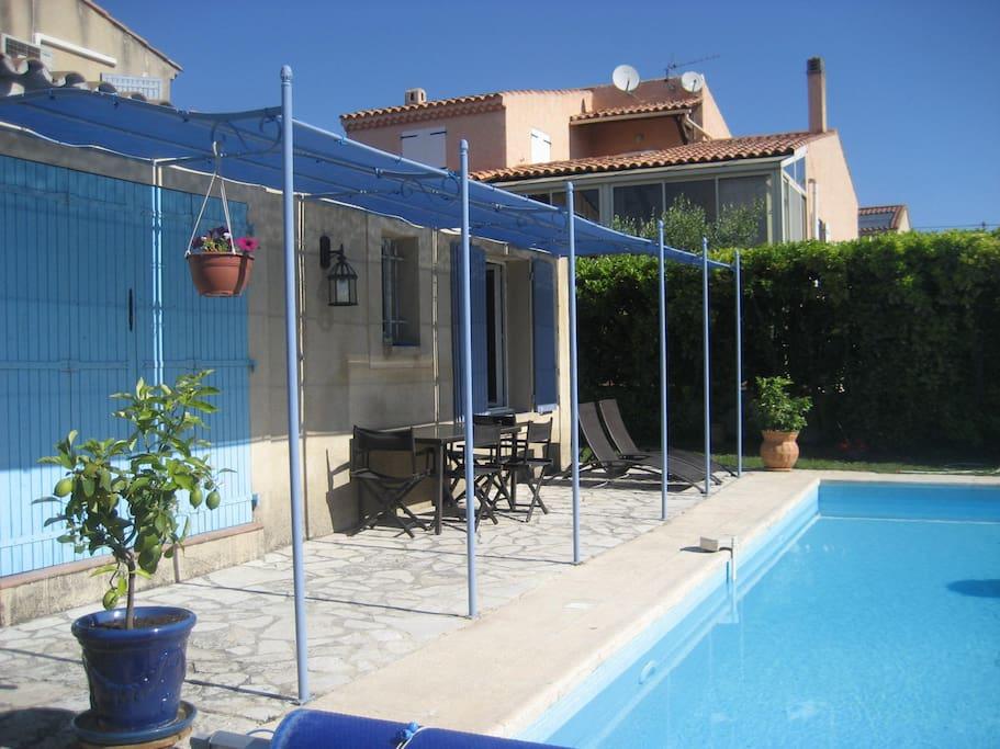 Le coin piscine