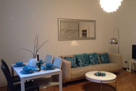 Design-Apt im Zentrum+Sonnenbalkon - Innere Stadt - Apartamento