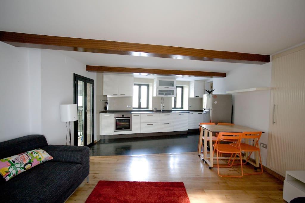 Piso en casco hist rico apartments for rent in santiago for Piso santiago de compostela