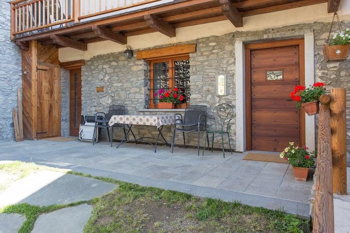 Alpine-style apartment (gentiane)