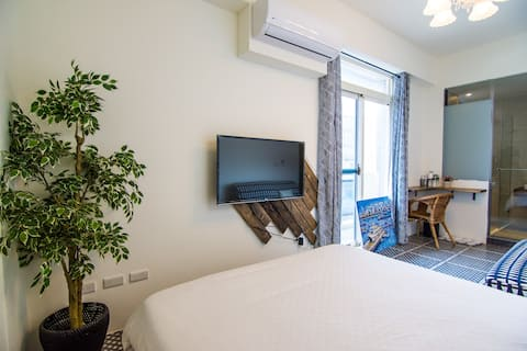 2018new apartment in city澎湖民宿