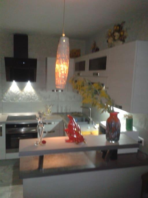 Кухонная часть