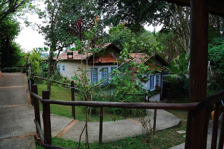 Chalé (n.05) para casal - Cunha - Apartament