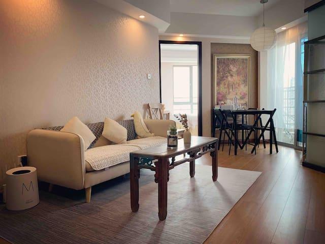 市中心60 m²完美套房. Lovely apartment in central Shanghai