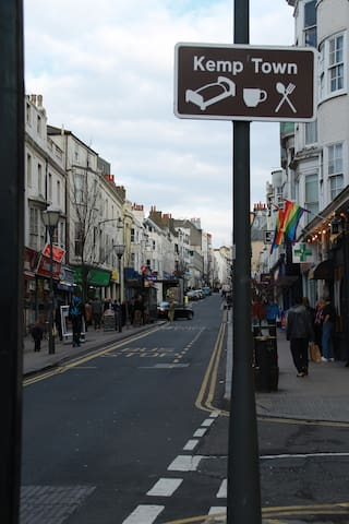 Our street; St James Street in the heart of lively Brighton
