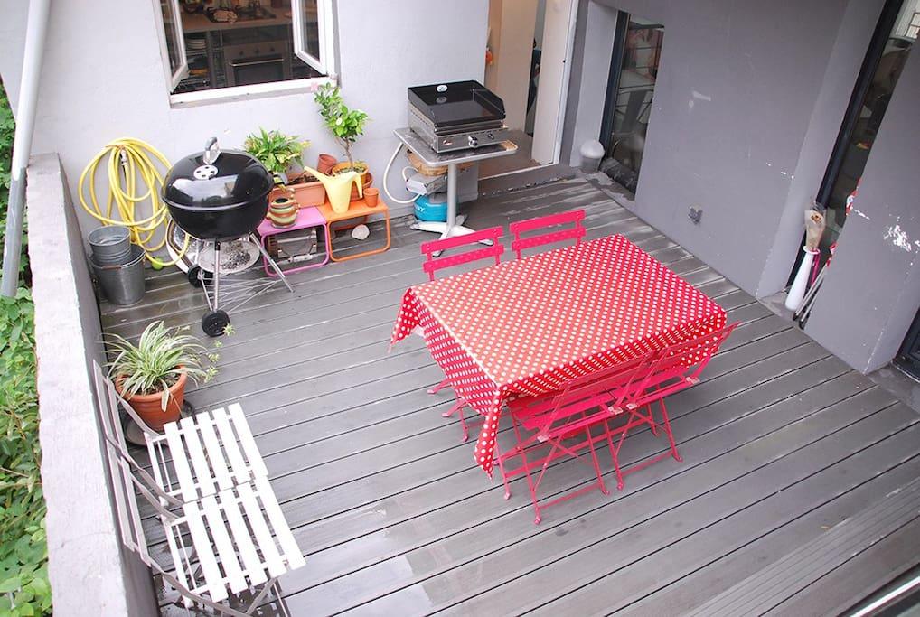 barbecue et plancha