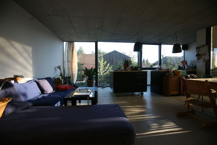 Beautiful modern house - Hauterive, Fribourg - Talo