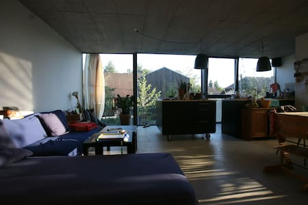 Beautiful modern house - Hauterive, Fribourg - Дом