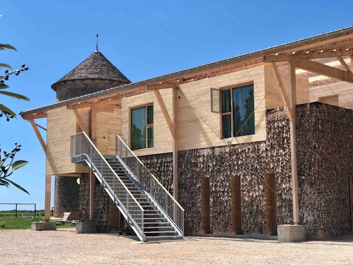 Gîte Les cabanes de l'Oré- Manoir Equivocal