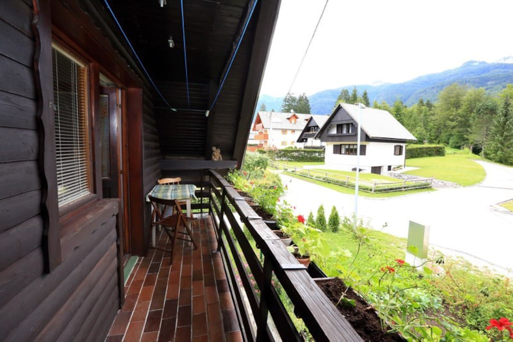 The balcony