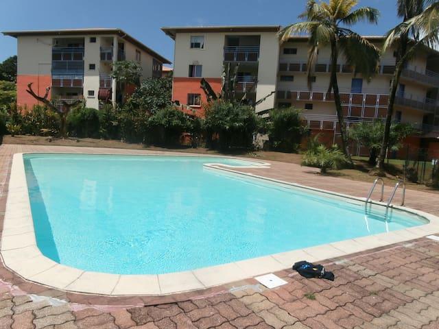 Location saisonnière deux-pièces - Cayenne - Apartment